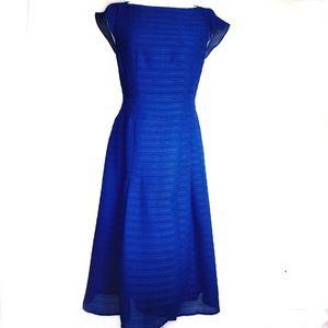 Nanette Lepore Blue Cap Sleeve Dress Size 4